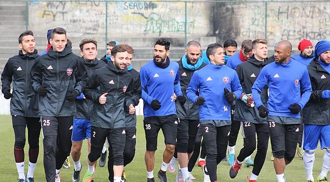 Karabükspor, Başakşehir Hazırlıklarını Tamamladı
