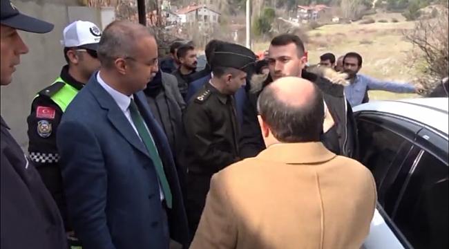 Baba Ocağında Türk Bayraklarıyla Karşılandı