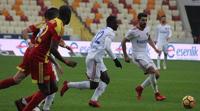 Evkur Yeni Malatyaspor - Kardemir Karabükspor: 3-1