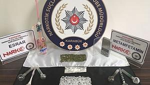 Karabük Merkezli Uyuşturucu Operasyonu:7 Gözaltı