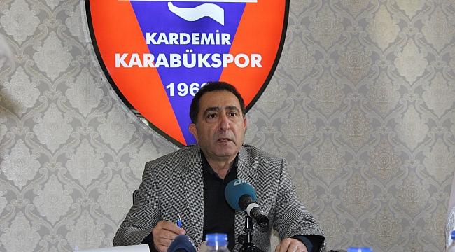 Karabükspor'da Başkan Yönetimi Bırakıyor
