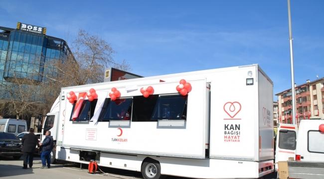 Mobil Kan Bağış Aracı Törenle Teslim Alındı