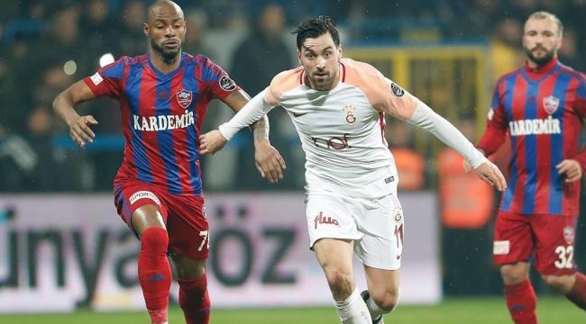 Karabükspor-Galatasaray maç sonucu: 0-7