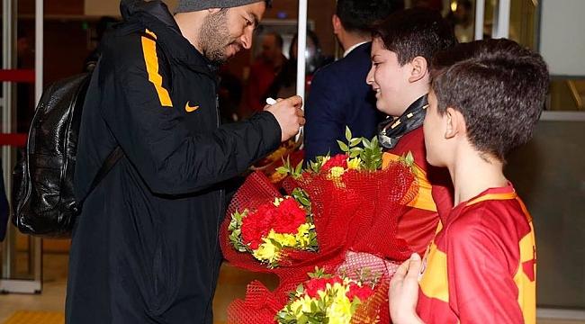 Galatasaray Karabük'e Geldi