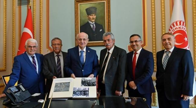 Vali Çeber'den TBMM Başkanı Kahraman'a Büyük Sürpriz