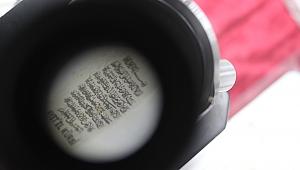 Pirinç Tanesine Ayet-el Kürsi Sığdırdı!