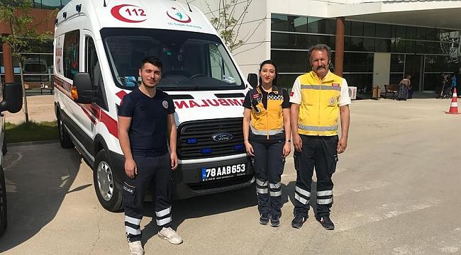 Yenice'ye Yeni Ambulans