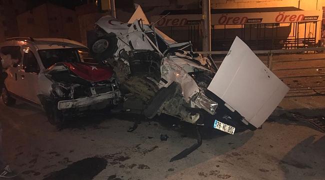 Yenice'de Trafik Kazası: 1 Ölü