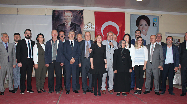 İYİ Parti Karabük Milletvekili Aday Adaylarını Tanıttı