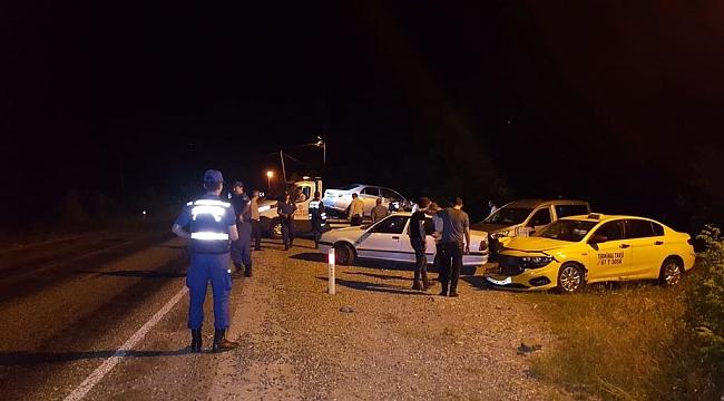 Yenice'de Trafik Kazası: 9 Yaralı