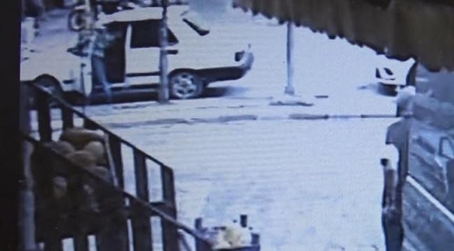 Balta ve Bıçaklı Saldırı Anı, Güvenlik Kamerasında