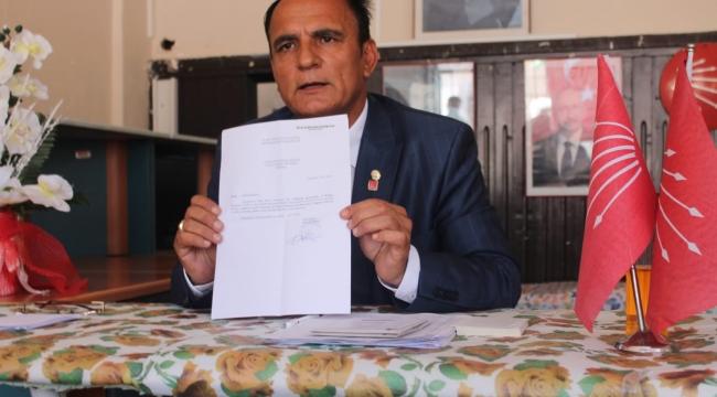 CHP'de Dayak İstifası