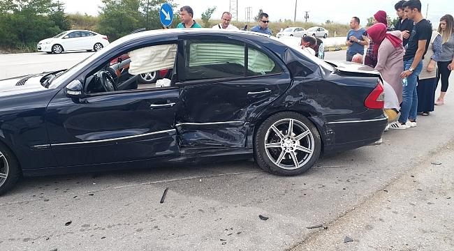 Karabük'te dinlenme tesisi çıkışında kaza: 1 Ölü, 6 Yaralı
