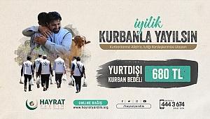 Hayrat Vakfından kurban bağışı kampanyası