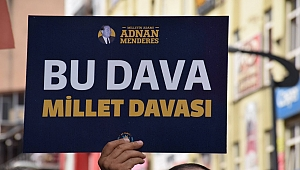 Karabük AK Parti Demokrasi Şehidi Adnan Menderes'i Andı