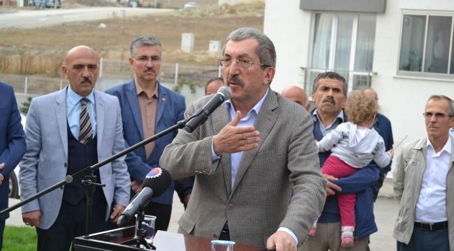 Belediye Evleri Parkı Hizmete Açıldı