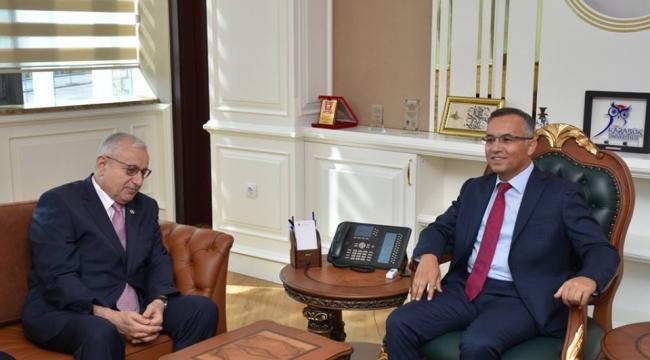 İYİ Parti Genel Merkez'inden Vali Kemal Çeber'e Ziyaret