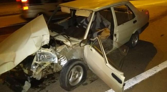 Kazada Yaralanan Sürücü Hayatını Kaybetti