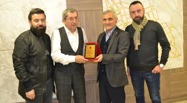 Karabükspor Yöneticilerinden Başkan Vergili'ye Ziyaret