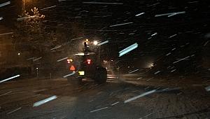 Yoğun kar yağışı başladı! İşte son durum