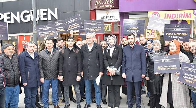 AK Parti 28 Şubat'ı unutmadı