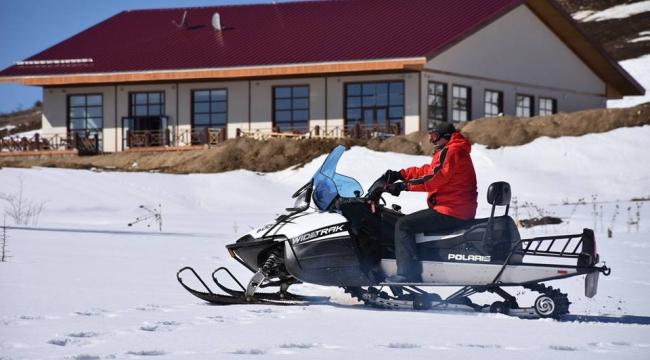 Kayak Merkezi'ne Kar Motoru Alımı Yapıldı
