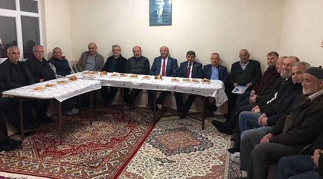 AK Parti Karabük İl Genel Meclis Üyesi Adayları Saha İndi