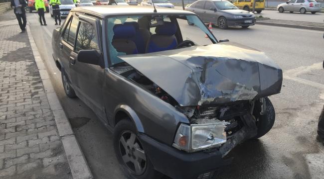 Karabük'te kaza: Sürücü ağır yaralandı