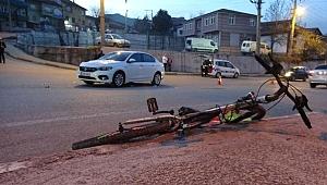 Otomobilin Çarptığı Çocuk Ağır Yaralandı!