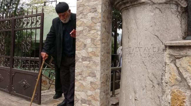 Cami Duvarında 1800 Yıllık Eser