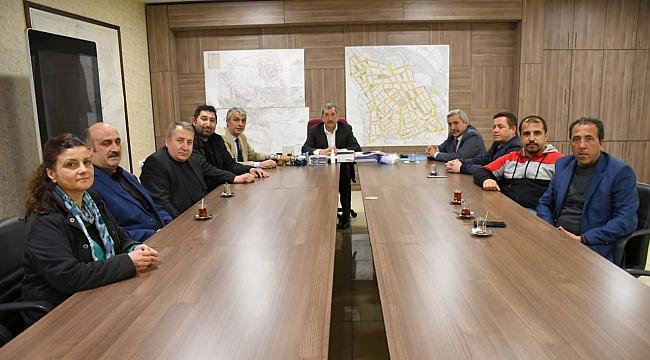 Karabük Gazeteciler Cemiyeti'nden Başkan Vergili'ye Hayırlı Olsun Ziyareti