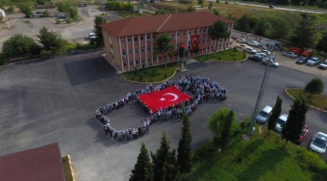 Türkiye haritası oluşturdular