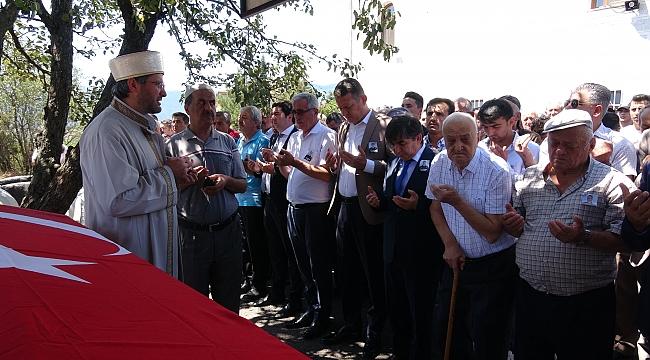 15 günlük İbrahim'den polis babaya veda
