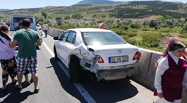 Karabük'te  zincirleme kaza: 15 kişi yaralı