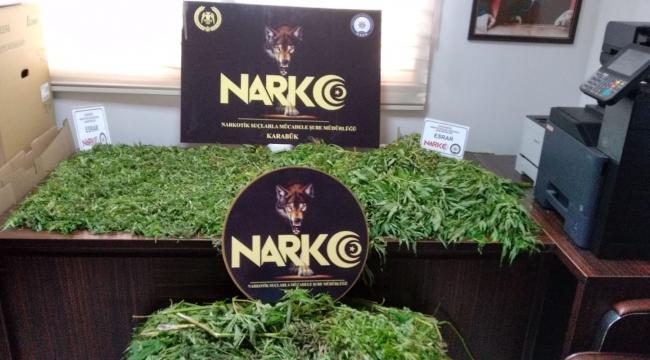 Karabük'te  4 ilçede uyuşturucu operasyonu: 43 gözaltı