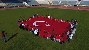 Karabük'lü miniklerden 'Barış Pınarı Harekatı'na anlamlı destek
