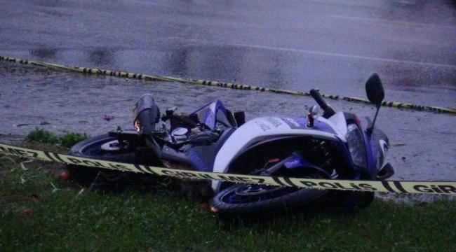 Karabük'te otomobille motosiklet çarpıştı: 1 yaralı