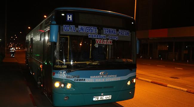 Karabük'te yine otobüs kazası