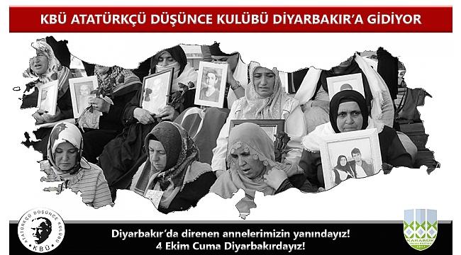 KBÜ ADK DİYARBAKIR'A GİDİYOR