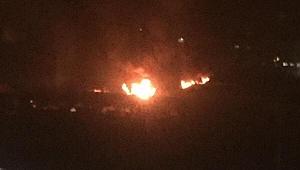 Kereste Fabrikasında Yangın