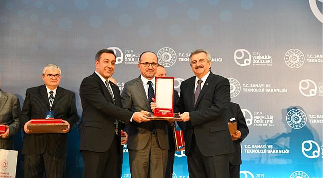KARDEMİR'e Sürdürülebilir Üretimde Birincilik Ödülü