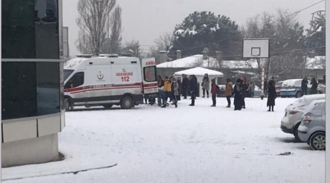 4 günde 30 kişi karda düşerek yaralandı
