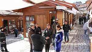 Başkan Elif Köse Restorasyon Çalışmalarını Yerinde İnceledi