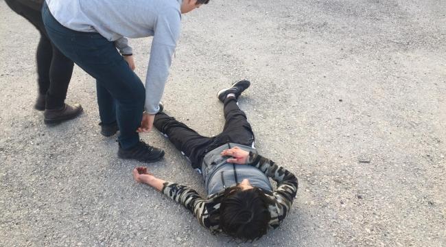 Safranbolu'da  motosiklet kazası: Bir yaralı