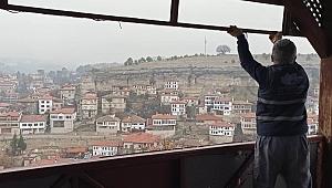 Safranbolu'nun Göz Bebeği Hıdırlık Seyir Tepesi Yenileniyor