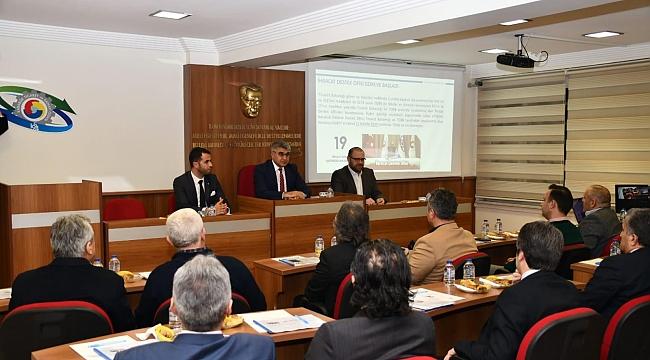 Vali Gürel, TSO Meclis Toplantısına Katıldı