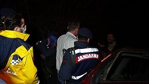 Karabük'te  feci kaza.. Ağaca çarpan sürücü hayatını kaybetti