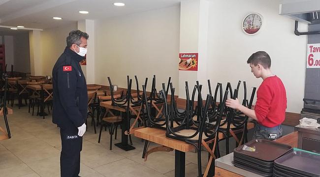 Karabük'te zabıta ekipleri çalışmalarını sürdürüyor