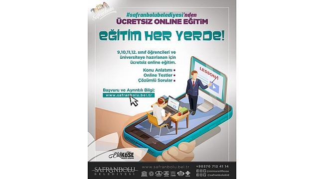 SAFRANBOLU BELEDİYESİ E-DERSHANE HİZMETİ