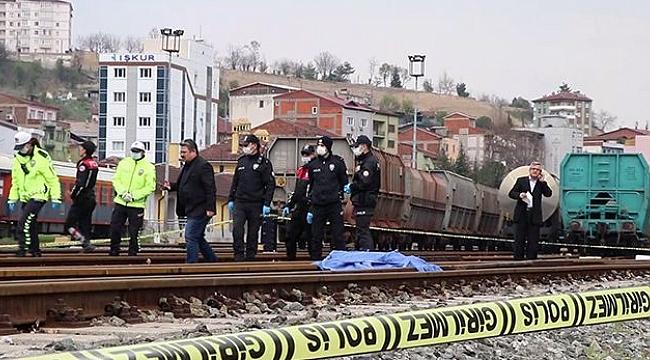 Karabük'te, yük treninin çarptığı kişi yaşamını yitirdi
